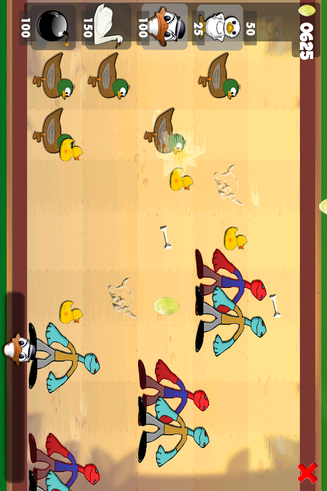 Screenshot Ducks vs. Zombies