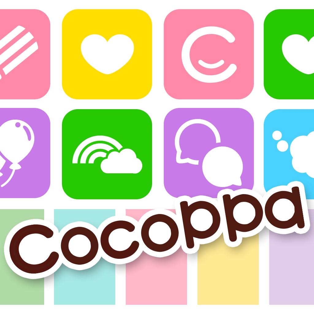 アイコン無料きせかえCocoPPa(ココッパ)- かわいい壁紙待受も取り放題!