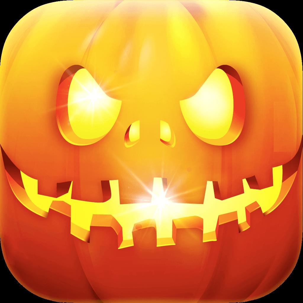 ハロウィンホーム画面棚壁紙デザイナー - iOS 7 Edition